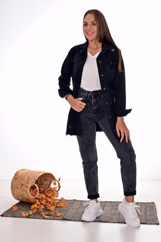 Γυναικείο Τζιν Jacket Oversized 02324