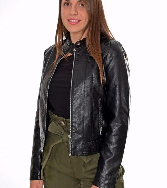 Γυναικείο Jacket Δερματίνη 55.35112